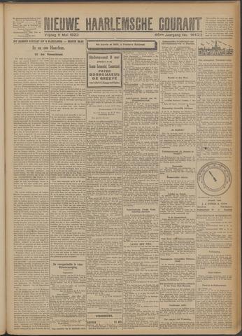 Nieuwe Haarlemsche Courant 1923-05-11