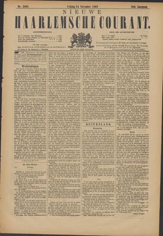Nieuwe Haarlemsche Courant 1893-11-24