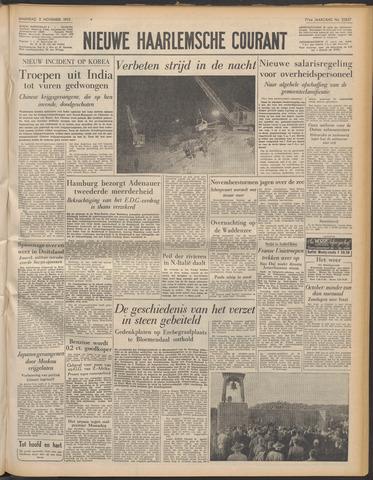Nieuwe Haarlemsche Courant 1953-11-02