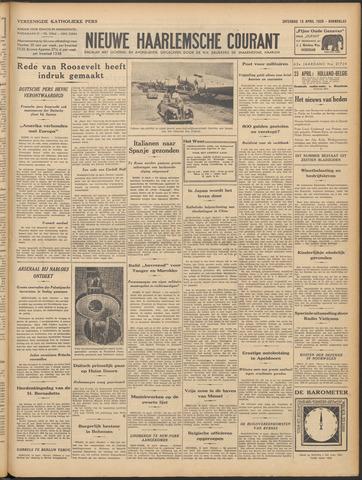 Nieuwe Haarlemsche Courant 1939-04-15