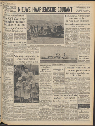 Nieuwe Haarlemsche Courant 1956-04-16