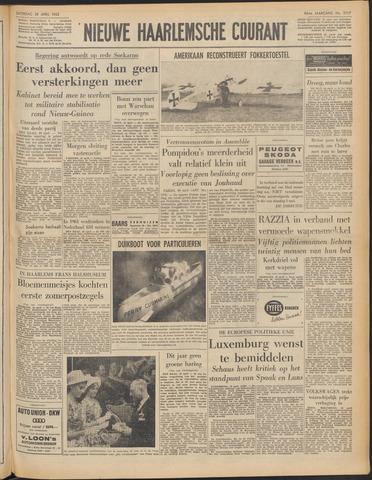 Nieuwe Haarlemsche Courant 1962-04-28
