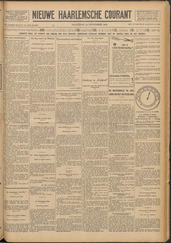 Nieuwe Haarlemsche Courant 1930-11-24