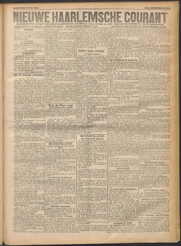 Nieuwe Haarlemsche Courant 1920-05-27