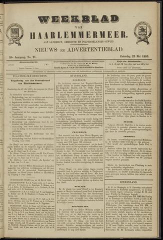Weekblad van Haarlemmermeer 1885-05-23