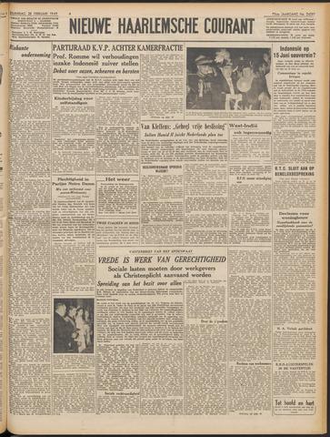 Nieuwe Haarlemsche Courant 1949-02-28