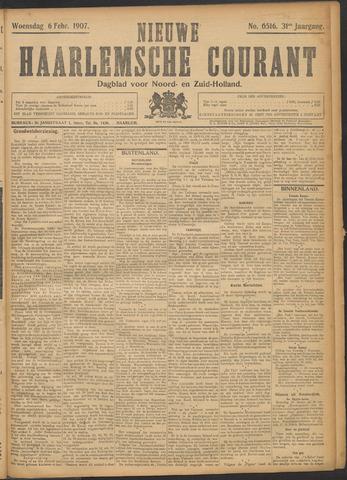 Nieuwe Haarlemsche Courant 1907-02-06