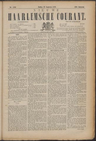 Nieuwe Haarlemsche Courant 1888-08-26
