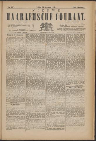 Nieuwe Haarlemsche Courant 1887-11-25