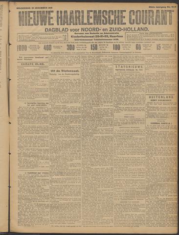 Nieuwe Haarlemsche Courant 1913-12-18