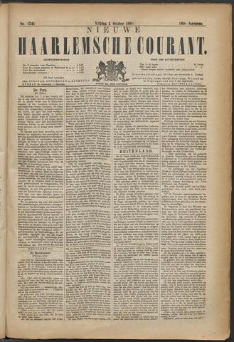 Nieuwe Haarlemsche Courant 1891-10-02