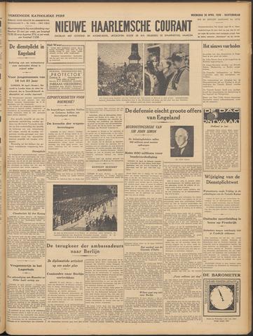Nieuwe Haarlemsche Courant 1939-04-26