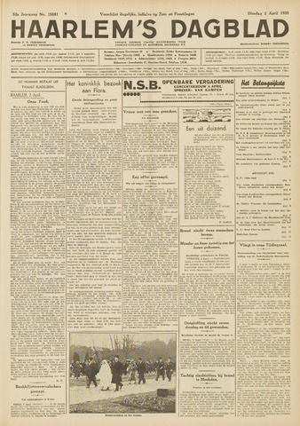 Haarlem's Dagblad 1935-04-02