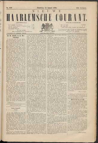 Nieuwe Haarlemsche Courant 1886-01-14
