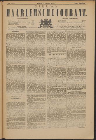 Nieuwe Haarlemsche Courant 1895-01-25