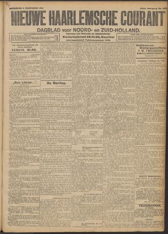 Nieuwe Haarlemsche Courant 1914-11-04