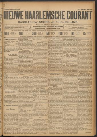 Nieuwe Haarlemsche Courant 1909-01-19
