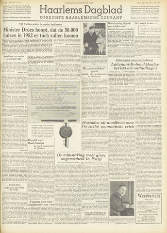 Haarlem's Dagblad 1951-11-16