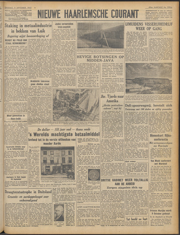 Nieuwe Haarlemsche Courant 1947-09-09