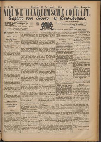 Nieuwe Haarlemsche Courant 1905-11-13