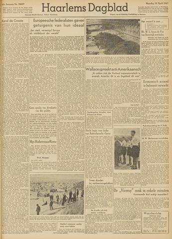 Haarlem's Dagblad 1947-04-14