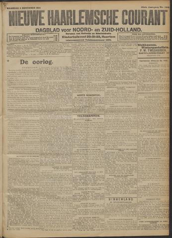 Nieuwe Haarlemsche Courant 1914-11-02