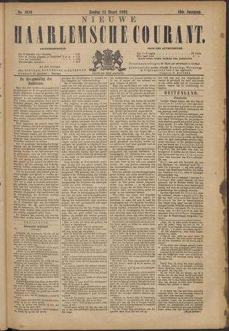 Nieuwe Haarlemsche Courant 1893-03-12