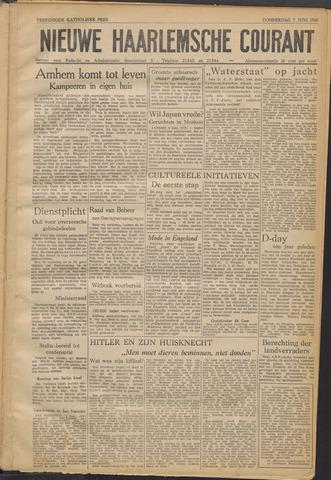 Nieuwe Haarlemsche Courant 1945-06-07