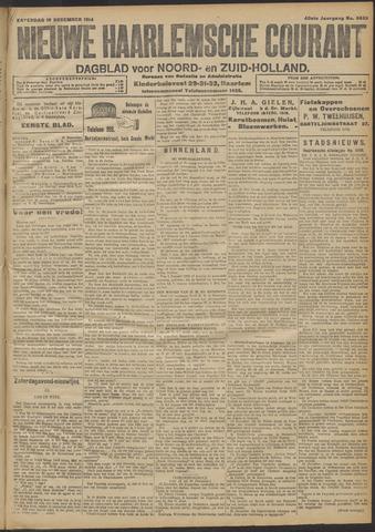 Nieuwe Haarlemsche Courant 1914-12-19