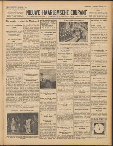 Nieuwe Haarlemsche Courant 1933-09-12