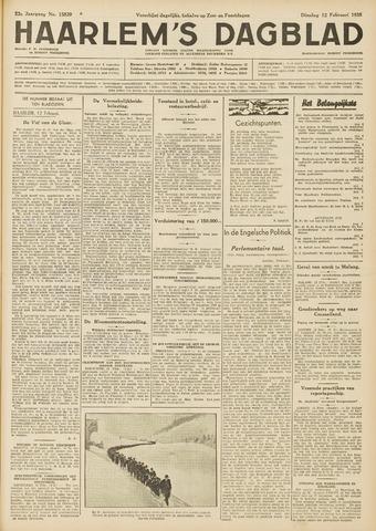 Haarlem's Dagblad 1935-02-12