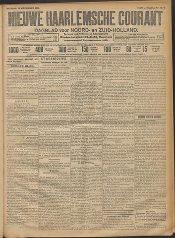 Nieuwe Haarlemsche Courant 1911-11-10