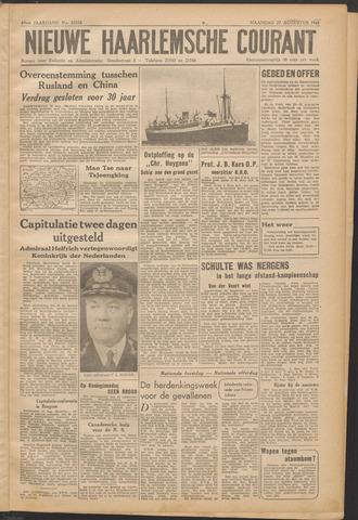 Nieuwe Haarlemsche Courant 1945-08-27