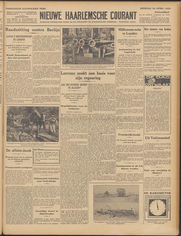Nieuwe Haarlemsche Courant 1935-04-16