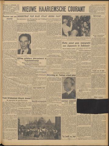 Nieuwe Haarlemsche Courant 1949-09-14