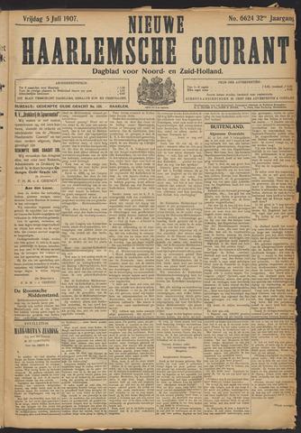 Nieuwe Haarlemsche Courant 1907-07-05