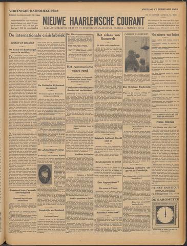 Nieuwe Haarlemsche Courant 1933-02-17
