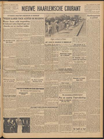 Nieuwe Haarlemsche Courant 1949-02-19