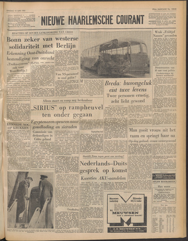 Nieuwe Haarlemsche Courant 1961-06-13