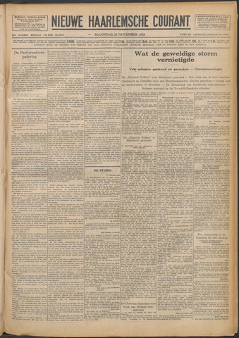 Nieuwe Haarlemsche Courant 1928-11-26