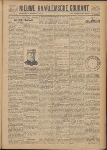 Nieuwe Haarlemsche Courant 1922-11-02