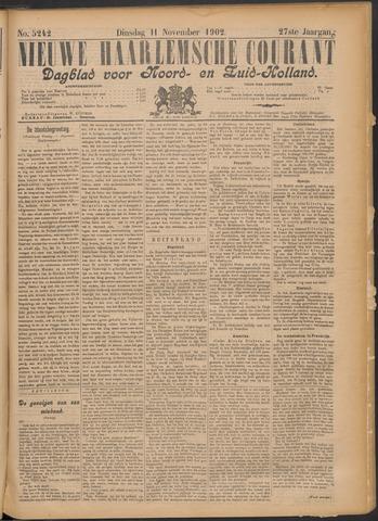 Nieuwe Haarlemsche Courant 1902-11-11