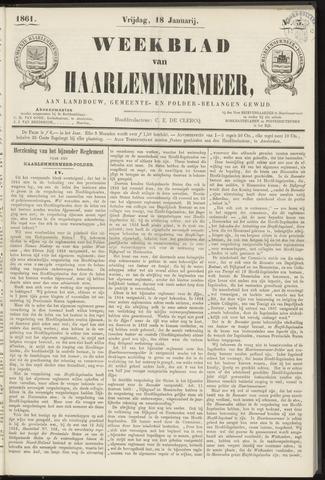 Weekblad van Haarlemmermeer 1861-01-18