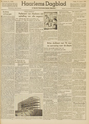 Haarlem's Dagblad 1950-01-13