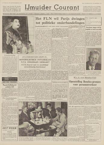 IJmuider Courant 1959-09-29