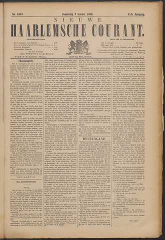 Nieuwe Haarlemsche Courant 1886-10-07