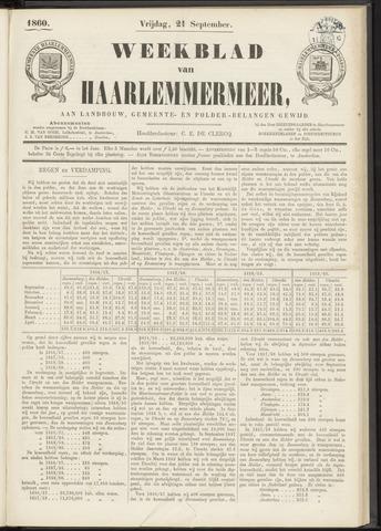 Weekblad van Haarlemmermeer 1860-09-21