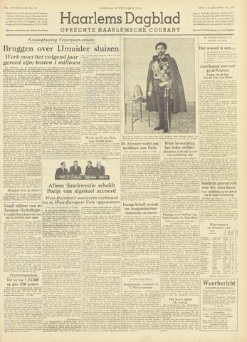 Haarlem's Dagblad 1954-10-22