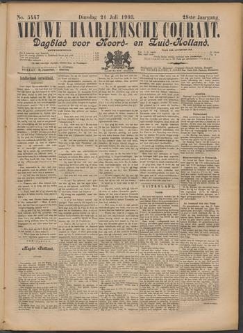 Nieuwe Haarlemsche Courant 1903-07-21