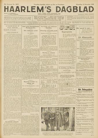 Haarlem's Dagblad 1935-11-13